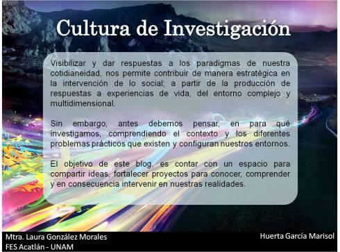 Cultura de Investigación
